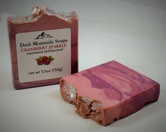Cranberry Sparkle Soap
