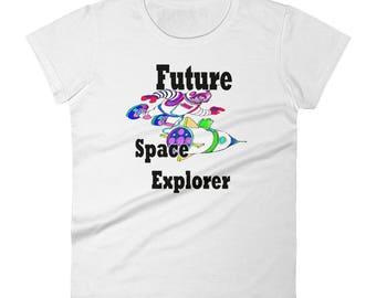 Future Space Explorer Women's T-Shirt