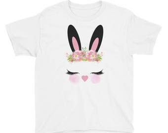 Easter bunny Youth Short Sleeve T-Shirt