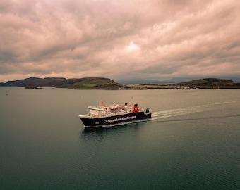 CalMac Ferry In Oban Scottish Highlands Photo