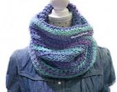 Cuello / Braga xxl / Bufanda  / invierno / abrigo/ fusia / azul morado/ gris / amoroso ajustable / crochet ganchillo / hecho a mano