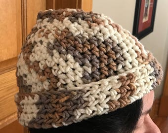 Crocheted Multicolor Hat