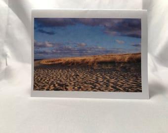 Beach greeting card