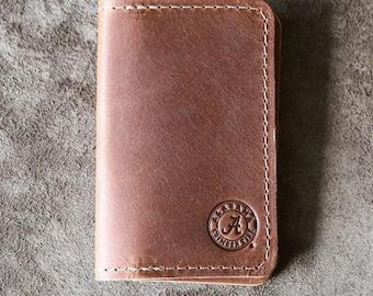 The Officially Licensed Crimson Tide Vincent Fine Leather Business Card Holder Wallet BiFold