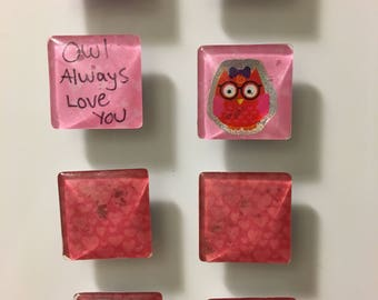 Owl Always Love You - Square Magnets
