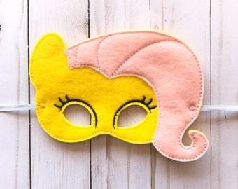 Fluttershy Inspired Mask