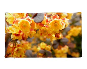 Yellow Wildflowers Pillow Case