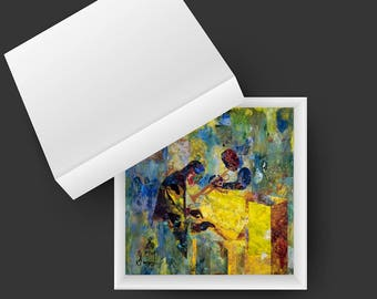 """Box of Cards, 5"""" x 5"""", Multi-Pack of Six Cards"""