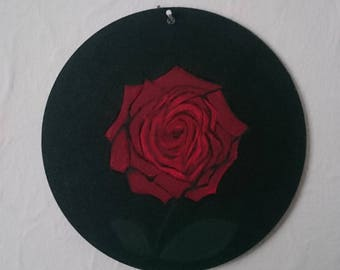 Edgy Rose Painting