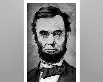Abraham Lincoln 11x17 Ultra Gloss Print