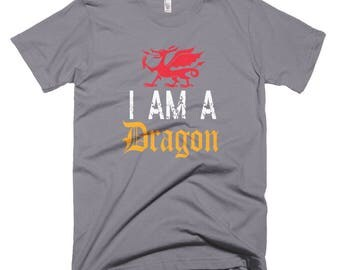 I am a Dragon Short-Sleeve T-Shirt