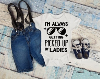 Always Getting Picked Up Onesie®, Funny Onesies®, Funny Bodysuits, Baby, Baby Clothing, Baby Boy