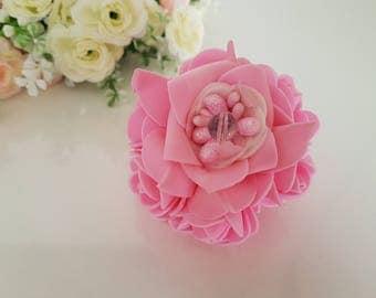 Hair tie, Flower hair tie, Rose headpiece, Flower hair tie, Rose hair tie, Pearl hair tie, Pearl headpiece, Bridesmaid hair accessories,ties