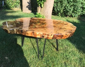 Handmade Spalted Maple Coffee Table