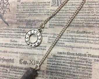 Smoke quartz pendulum , pendulum , dowsing pendulum , divination pendulum