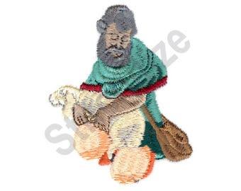 Shepherd - Machine Embroidery Design