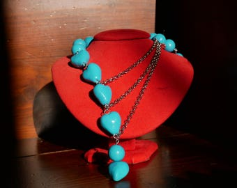 Turquoise Necklace (like a clear sky)