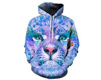 Tiger Hoodie, Tiger, Tiger Hoodies, Animal Prints, Animal Hoodie, Animal Hoodies, Tigers, Hoodie Tiger,Hoodie,3d Hoodie,3d Hoodies Style 4