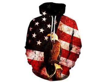 Eagle Hoodie, Eagle, Eagle Hoodies, Animal Prints, Animal Hoodie, Animal Hoodies, Eagles, Hoodie, 3d Hoodie, 3d Hoodies, Usa Hoodie Style 8