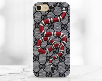 gucci 7 plus case. gucci red snake iphone 8 case 7 samsung s8+ plus