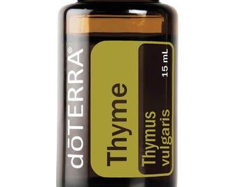 Doterra Thyme Essential Oil 15mL bottle