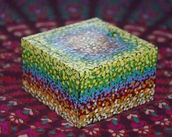 Spotty Rainbow Box