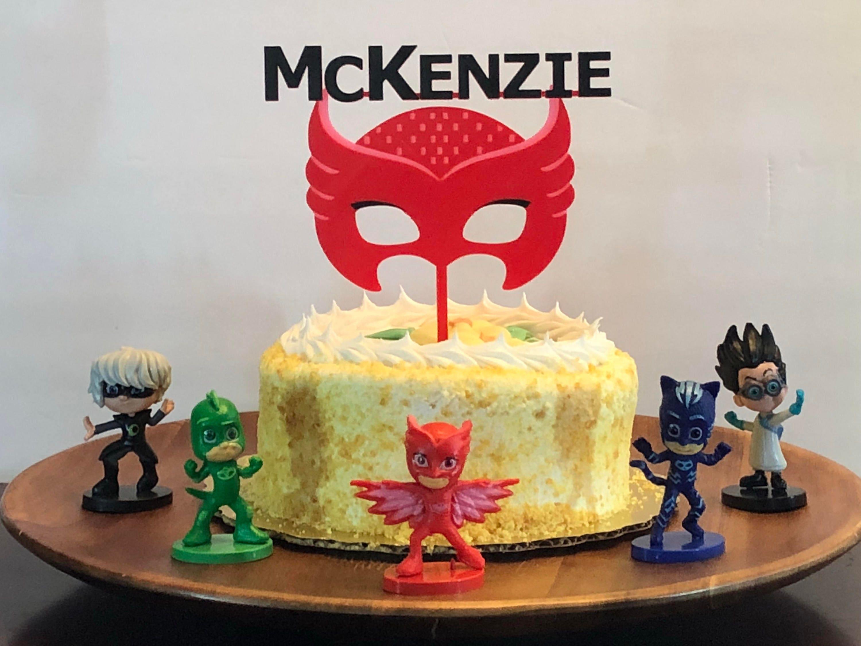 Custom PJ Masks Owlette Cake Toppers [E10261624442314072M] - $24.99 ...