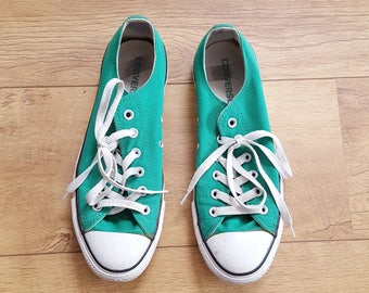 Green Converse All Star