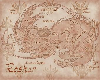 Roshar Map
