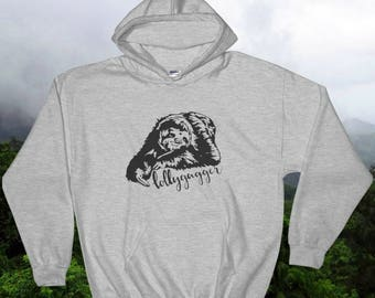 Lollygagger sloth hoodie/sloth hoodie/lollygag hoodie/lollygagger shirt/sloth hoodie/relaxed hoodie/animal hoodie/lollygag/sloth shirt