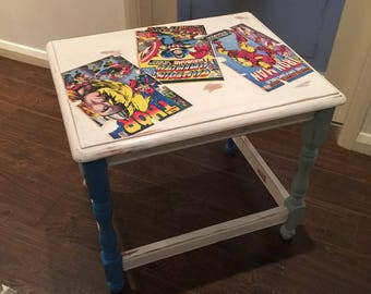 Comic Inspired Small Table