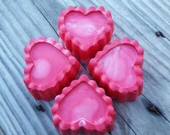 Wedding Favor Soap / Natural Soap / Bridesmaid Gift / Teacher Gift / Valentine / Bridal Shower Decoration / Bridal Shower Prize
