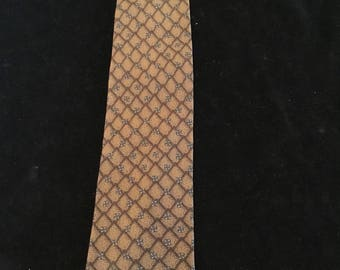Vintage G Doria Silk Tie Made In Italy