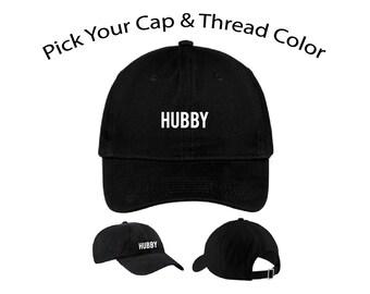 Hubby Dad Cap, Hubby Dad Hat, Dad Cap, Dad Hat, Funny Hat, Cap, Hat, Cap Daddy