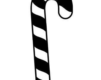 Candy Cane SVG Cutting File