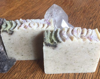 """White Sage """"Cleasing"""" soap with Lavender and Clary sage"""