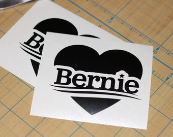 Bernie Sanders  Decal  |  Democrat Bernie Sticker