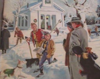 Boys' Life, December 1956 (Elmer Works for Santa)