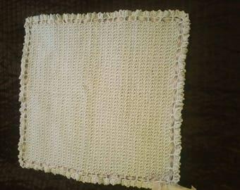 Daisy Pattern Baby Blanket