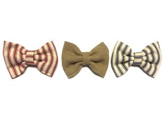 Vintage Circus Baby Boy Interchangeable Bow Ties
