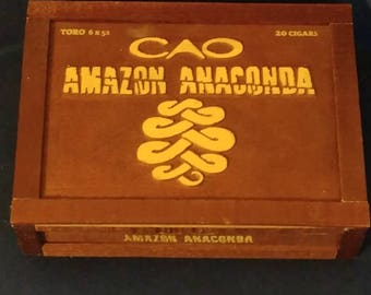 CAO Amazon Cigar Box Bluetooth Speaker