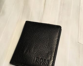 Black Hugo Boss Crecit Card Holder
