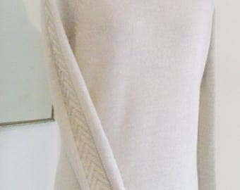 Pure Merino Sweater, Pullover, Premium Knit, Handmade, Exceptionally Soft and Cosy