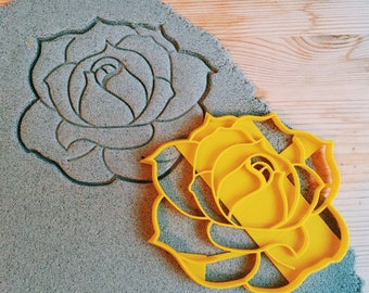 Rose flower Cookie Cutter