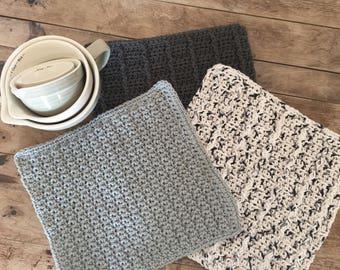 Farmhouse Style Cotton Dishcloths