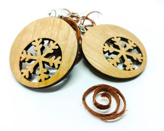 Cherry Wood Earrings Accessories Fashion ceremony