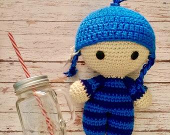 Crochet Doll Gordis pajamas/Gordis Crochet doll Pajamas