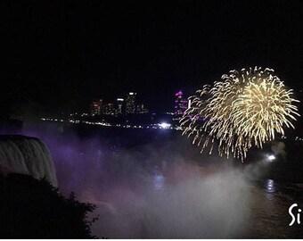 Digital Download of Niagara Falls Fire Works