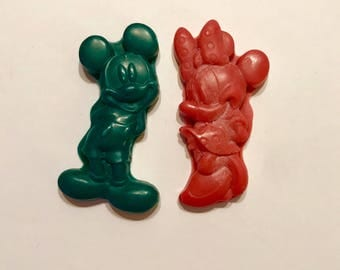 Mouse Couple Wax Crayons