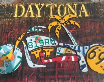 Daytona themed motorcycle